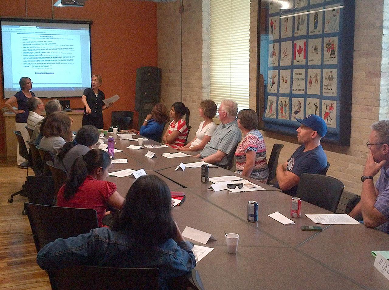 Adult MB EAL Volunteer Workshops 2015