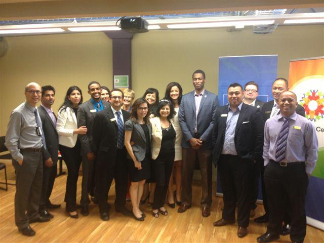 June 25, 2013 RBC Mosaic at the Immigrant Centre